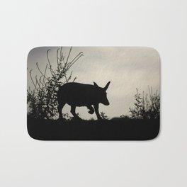 Wild Iberian Pig Bath Mat