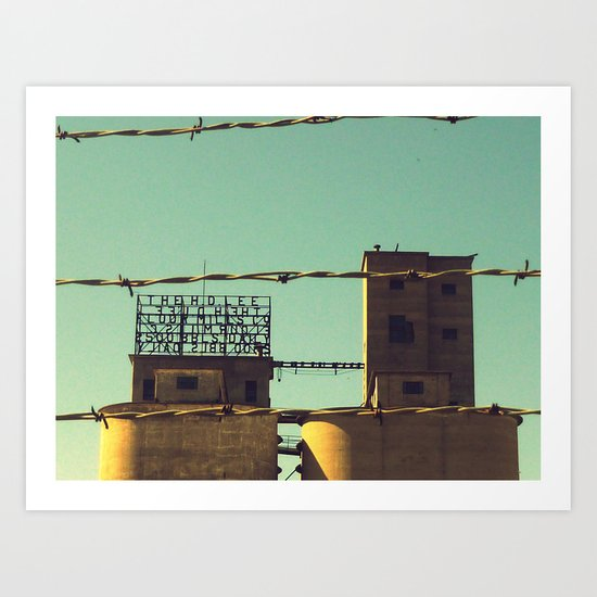 Flour Mill Art Print