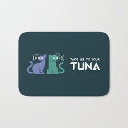 Take Us to Your Tuna Bath Mat