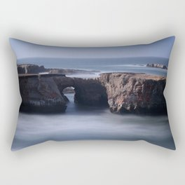 Keyhole Rock Arches Point Arena California Rectangular Pillow