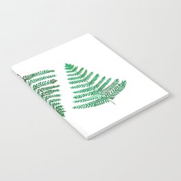 Fiordland Forest Ferns Notebook
