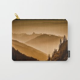 Arlberg Pass Mountain Landscape Carry-All Pouch