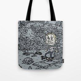 Manual pad Tote Bag