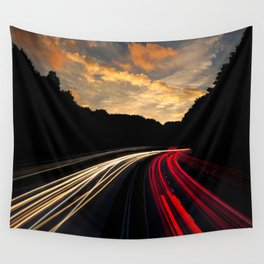 Highway to Adventure Wall Tapestry