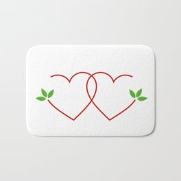 Just married Bath Mat