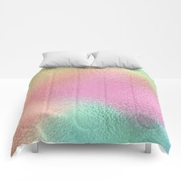 Simply Metallic in Iridescent Rainbow Comforters