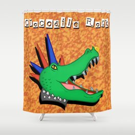 Crocodile Rock Shower Curtain
