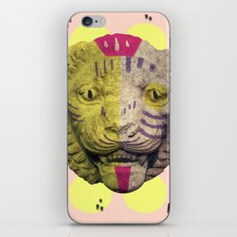 the lion pop iPhone Skin