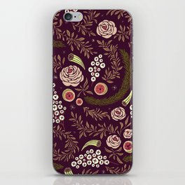 Autumn Walk Floral iPhone Skin