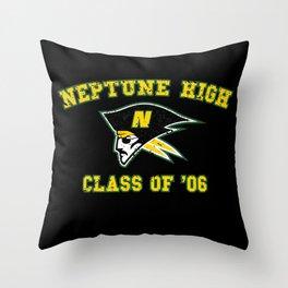 Neptune High Class of '06 Throw Pillow
