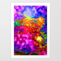 The Heart of Passion Art Print
