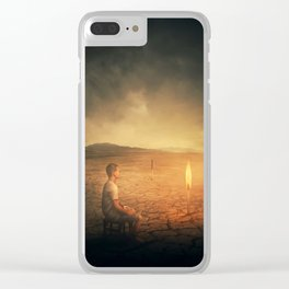 The Last Hope Clear iPhone Case