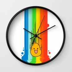 Overflowing with Awesomeness Wall Clock