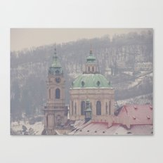 Prague Building Canvas Print