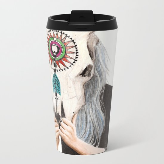 Hide Metal Travel Mug