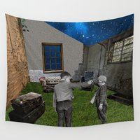 games Wall Tapestries featuring War Games  by Design4u Studio