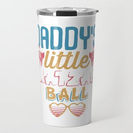 Daddy's Little Matzah Ball Cat Jewish Passover Travel Mug
