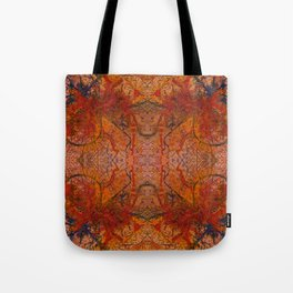 Branches Aflame with Flower Tote Bag