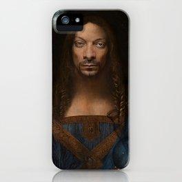 Sativator Mundi iPhone Case