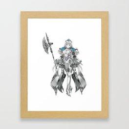 Queen's Blade Grimoire Framed Art Print