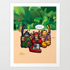 The Three Wise Monkeys Art Print