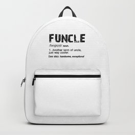Funcle shirt Backpack