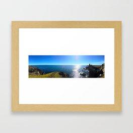 Lóndrangar Rock Pillars in Western Iceland (2) Framed Art Print