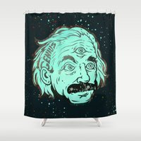 physics Shower Curtains featuring Genius by Beery Method