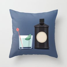 Gin o'clock Throw Pillow
