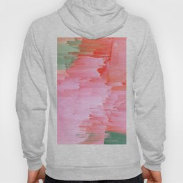 Romance Glitch - Pink & Living coral Hoody