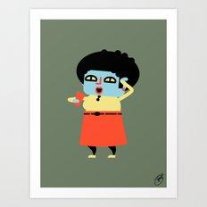 Doris (Alt) Art Print