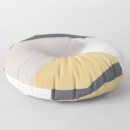 Abstract 35 Floor Pillow
