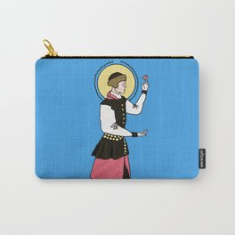 Patron Saint of Tiny Fat Birds Carry-All Pouch