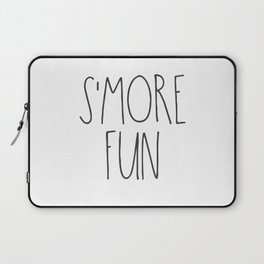 S'MORE FUN TEXT Laptop Sleeve
