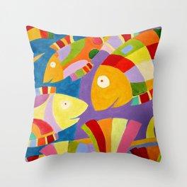 Fische Throw Pillow