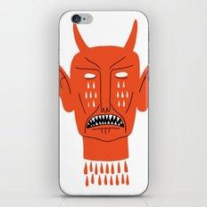 Devil's Head iPhone Skin