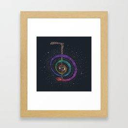 Reiki Snake Framed Art Print