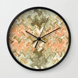 Tech Abstract Wall Clock