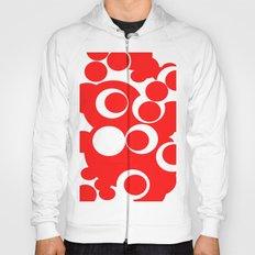 red circles Hoody