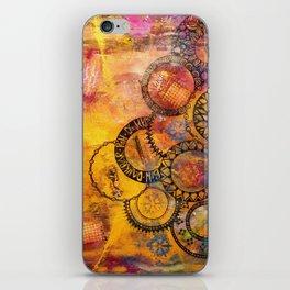 Mandala Be Grateful iPhone Skin