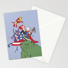 The Catvengers - Earth's Mightiest Kitties Stationery Cards