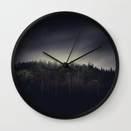 One final mountain to go Wall Clock