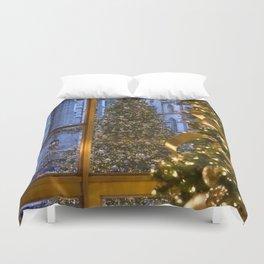 Beautifu christmas tree Duvet Cover