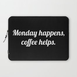 The Coffee Lover V Laptop Sleeve