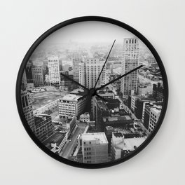 33rd Floor - Detroit, MI Wall Clock