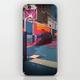 Play the game: Basketballcourt iPhone Skin