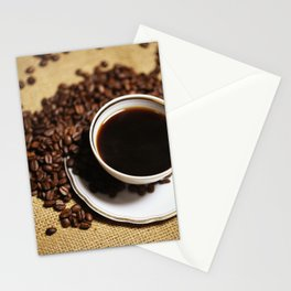 coffee cup Stationery Cards