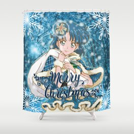 Merry Xmas Ami! Shower Curtain