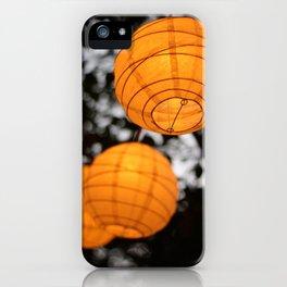 Enchanted Lanterns iPhone Case