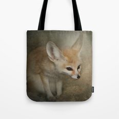 Little Fennec Fox Tote Bag